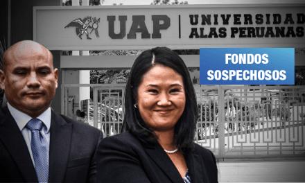 Fiscalía: Alas Peruanas financió campaña electoral de Keiko en 2016