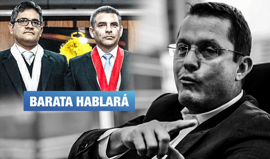 Codinomes: Barata revelará identidad de 71 personajes vinculados a pagos de Odebrecht