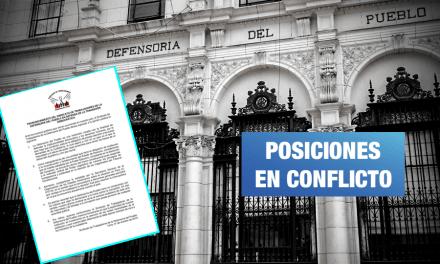 Defensoría: Trabajadores se oponen a pronunciamiento oficial y apoyan cierre del Congreso