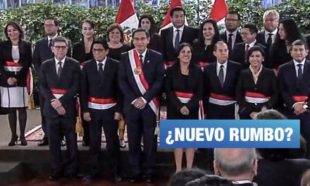 Jura 'Gabinete Zeballos' tras Congreso disuelto