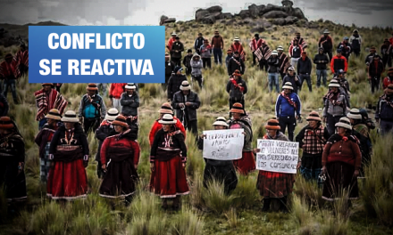 Mirtha Vásquez: «Población del corredor minero protesta porque mesas de diálogo no canalizan demandas»