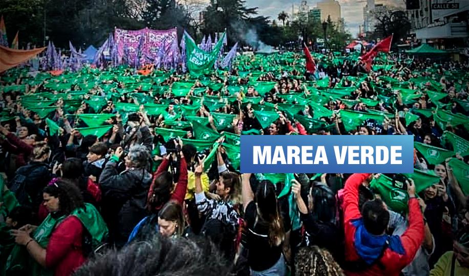 Mujeres indígenas de América Latina en el masivo ritual feminista de Argentina