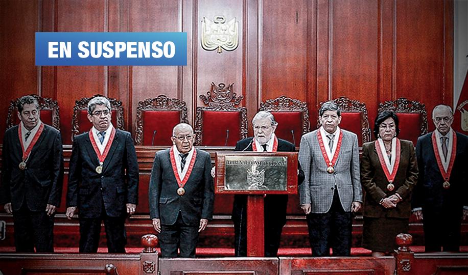 Audiencia TC por demanda de Olaechea contra disolución del Congreso será el jueves