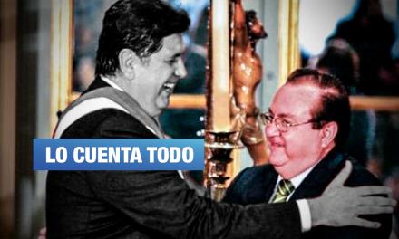 Barata entregó loncheras con dinero a Alan, revela exministro aprista Luis Nava