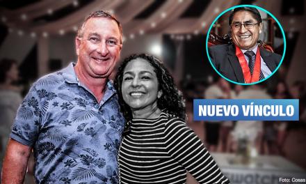 Revelan audio entre Hinostroza y esposo de Cecilia Chacón