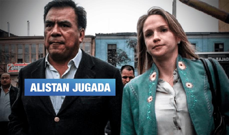 Apristas 'salvarían' a Velásquez al ponerlo en Comisión Permanente en reemplazo de Luciana León