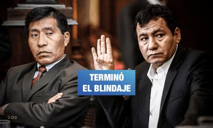 Excongresistas pierden inmunidad y podrán ser procesados o arrestados