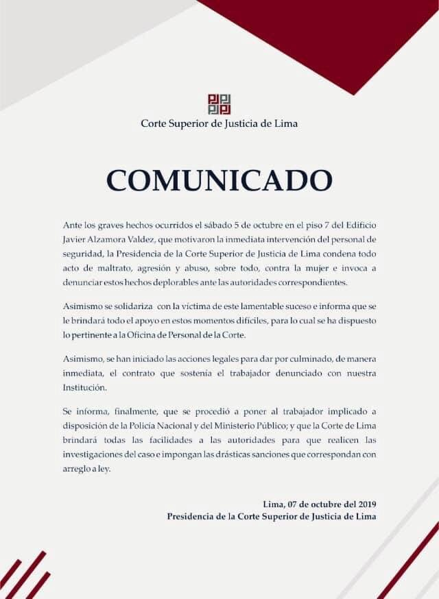 Corte Superior de Justicia de Lima