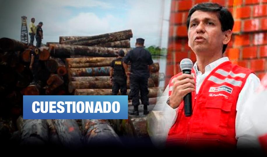 Ministro Meléndez renuncia a su cargo tras revelarse presunto vínculo con madereros ilegales