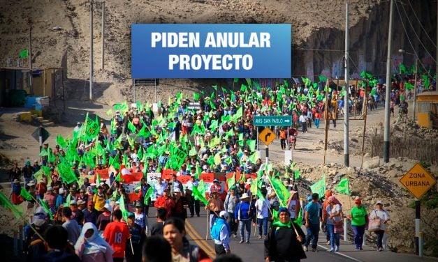 Tía María: Comunidades anuncian más acciones de protesta a 100 días de paro