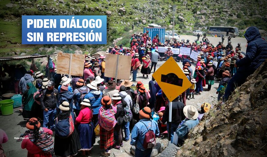 Cusco: Comuneros de Chumbivilcas rechazan estado de emergencia en corredor minero