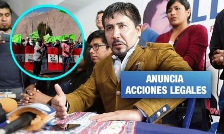 Arequipa: Gobernador acudirá al PJ para revertir resolución a favor de Tía María