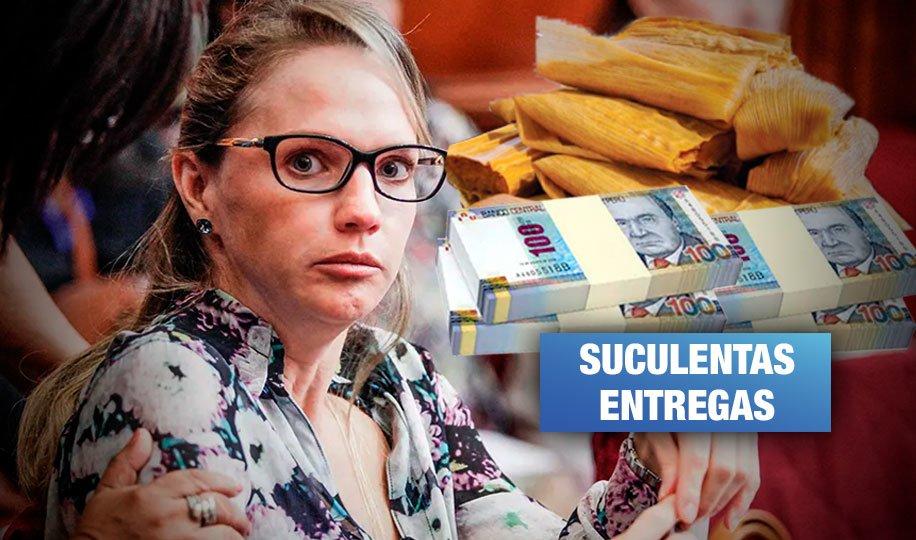 Caso Luciana León: Chofer recogía «tamalitos» de dinero, según testimonio