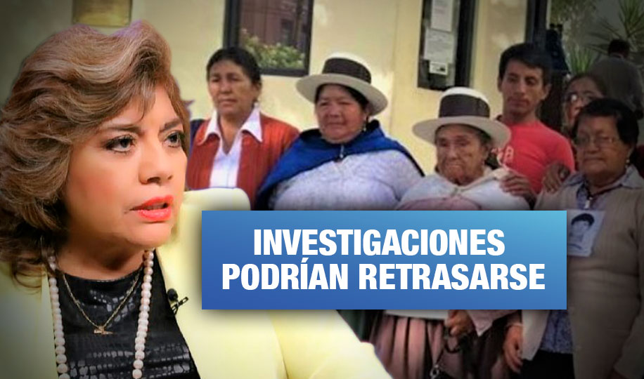 Zoraida Ávalos desactiva dos  fiscalías a cargo de casos de violación de derechos humanos