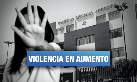 Arequipa: Más de 8 mil denuncias de violencia hacia la mujer