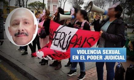 Mujeres protestaron frente a Corte Superior de Justicia por caso de violación sexual