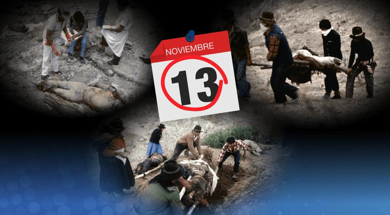 [GRÁFICA] A 36 años de la masacre de Socos