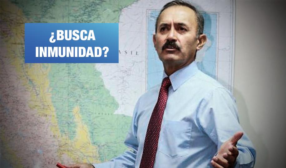 Acción Popular: militar cercano al régimen fujimontesinista es candidato al Congreso