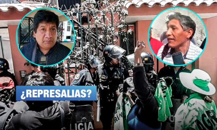 Arequipa: Detienen a dirigentes opositores al proyecto Tía María