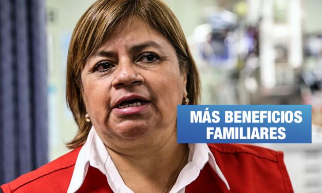 Zulema Tomás nombró en jefatura de hospital a madre de pareja de su hijo