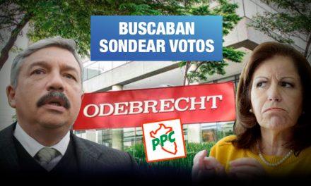 PPC: Colaborador eficaz afirma que Odebrecht pagó encuesta a favor de Beingolea