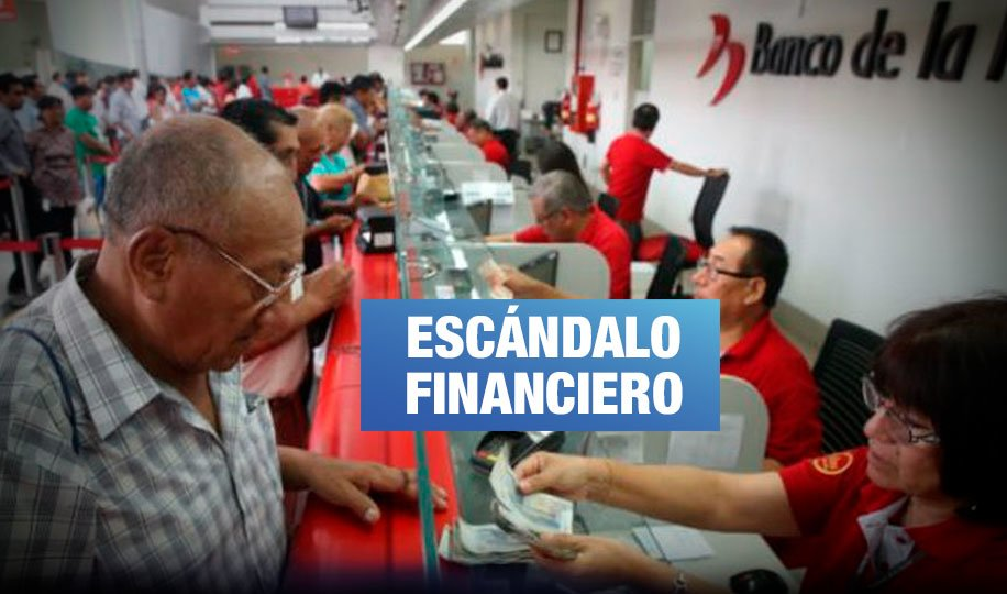Banco de la Nación realizó cobros indebidos a trabajadores y pensionistas
