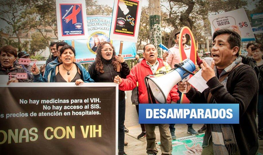 Personas con VIH exigen afiliación al Seguro Integral de Salud