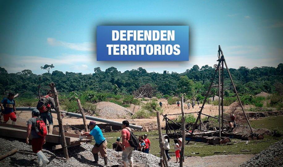 Madre de Dios: Comunidad Tres Islas expulsa a mineros ilegales que invadieron lago