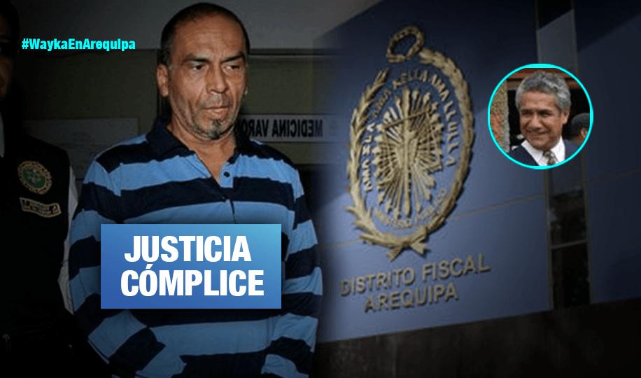 Arequipa: Fiscal es investigado por escandaloso caso de feminicida prófugo