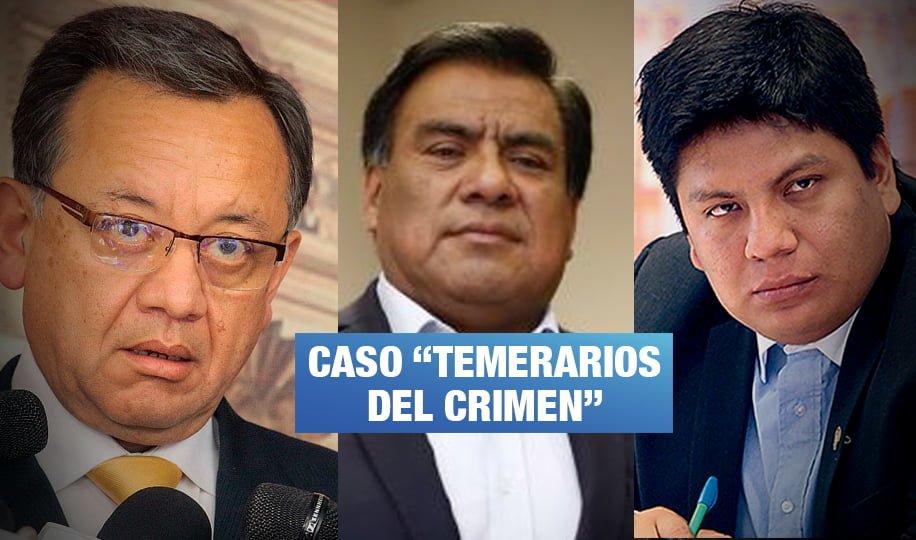 Fiscalía formaliza denuncia constitucional contra Velásquez, Palma y excontralor Alarcón