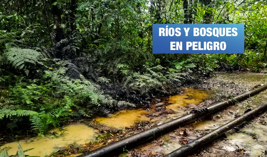 Tres derrames de petróleo contaminaron la selva peruana en menos de 30 días