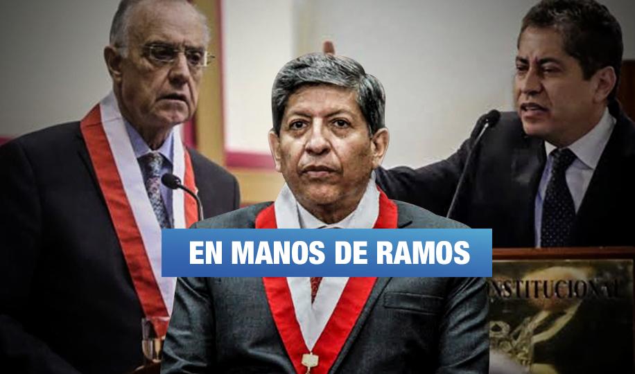 Tribunal Constitucional: Elección de nuevo presidente dependería de voto de Ramos