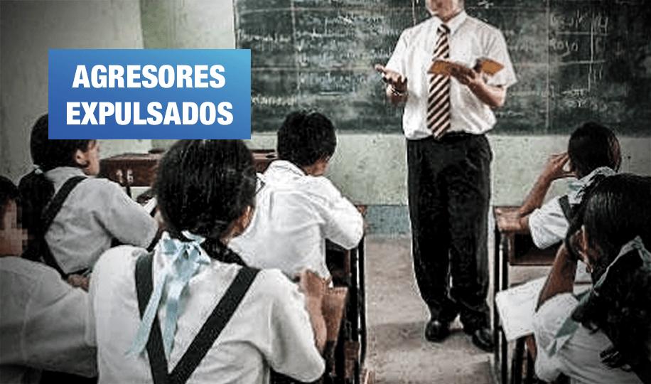Docentes sentenciados por feminicidio y explotación sexual ya no podrán trabajar en colegios