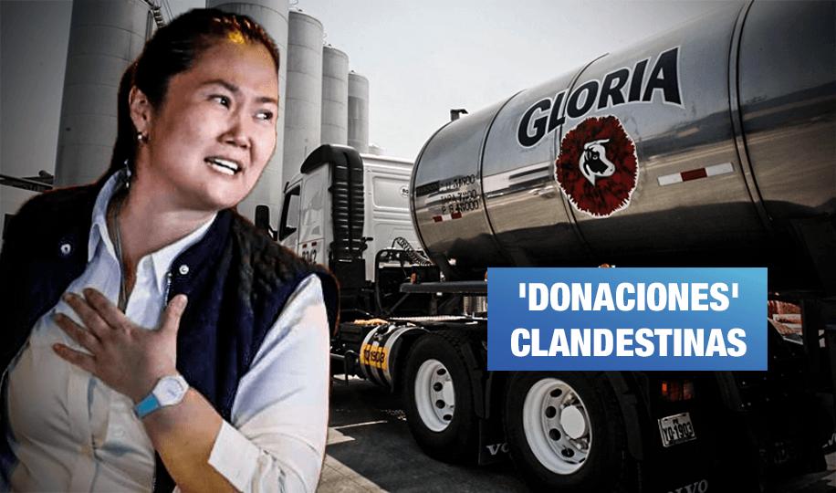 Dueño de grupo Gloria confirmó que Keiko Fujimori sabía sobre aporte de US$200 mil
