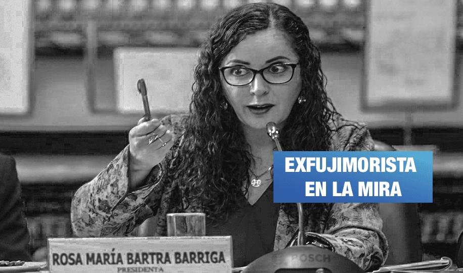 Rosa Bartra será interrogada esta mañana por el fiscal José Domingo Pérez