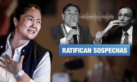 Caso Keiko: Salaverry confirma coordinación entre Hinostroza y Becerril