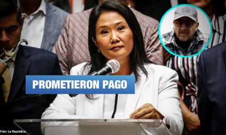 Keiko Fujimori: Revelan que ofrecieron dinero a cambio de presentar habeas corpus