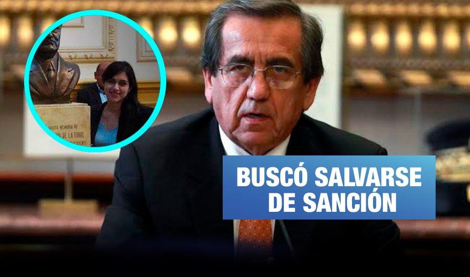 Audios revelan artimañas de Del Castillo para tapar denuncia sobre exasesora
