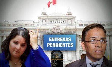 Excongresistas continúan sin devolver bienes asignados a su despacho
