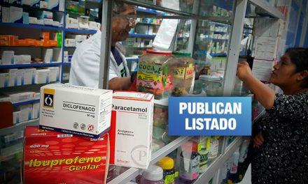 Solo 31 medicamentos genéricos son de venta obligatoria en boticas y farmacias