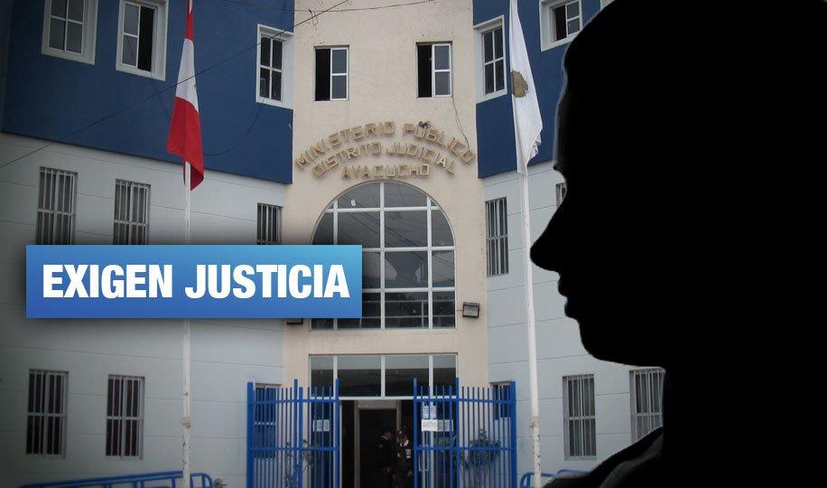 Ayacucho: Denuncian que fiscal y juez no realizan diligencias en caso de violación a dos jóvenes