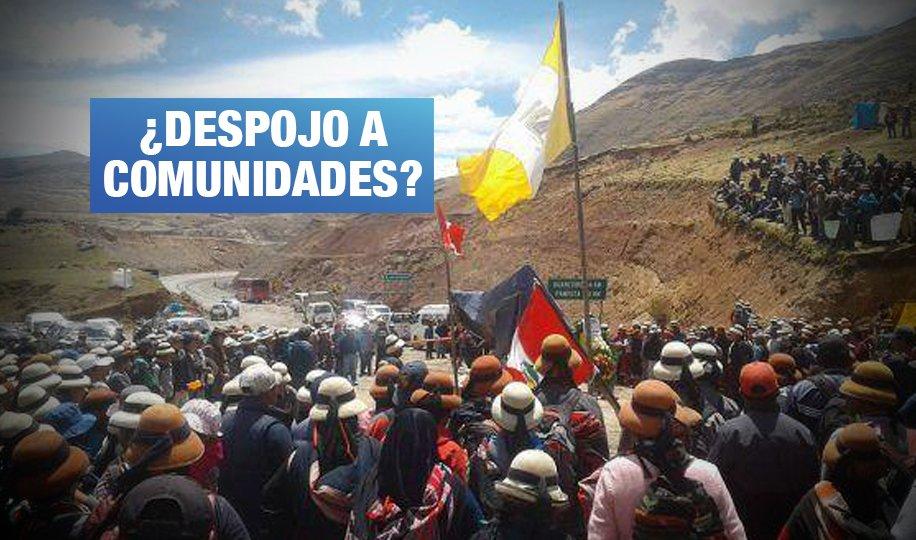 Corredor minero: Modifican norma que autorizaba expropiación de terrenos por adquisición