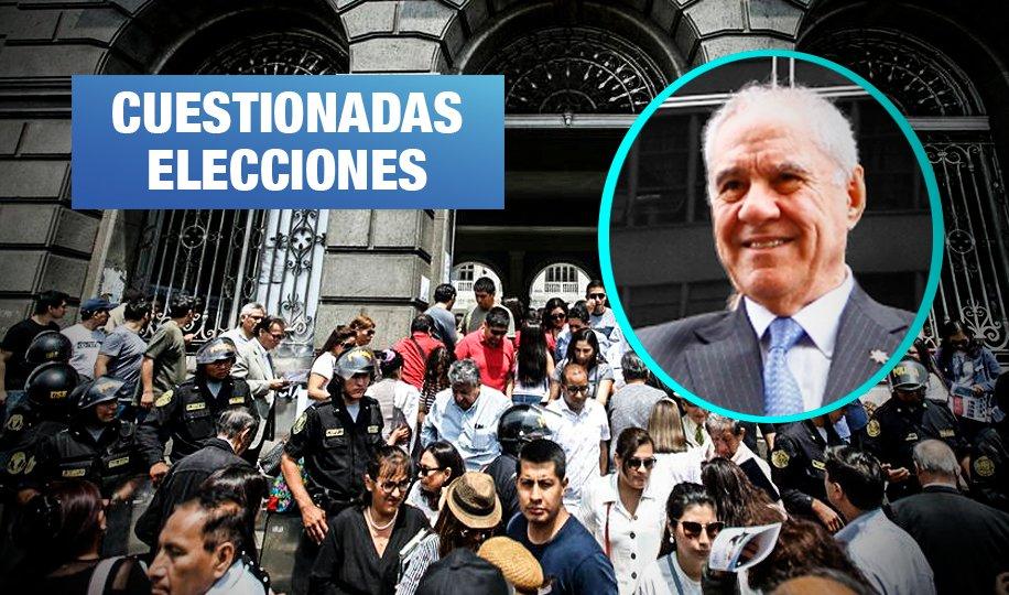 Alertan de captura política en elecciones de Colegio de Abogados de Lima