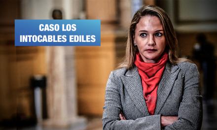 Luciana León intercedió por presunto miembro de banda criminal ante el Ministerio de Vivienda