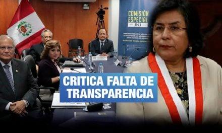 Presidenta del TC plantea se postergue juramentación de la Junta Nacional de Justicia