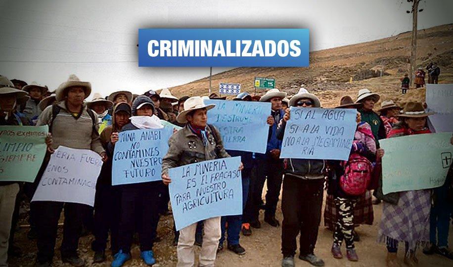 Cusco: Defensores ambientales de Chumbivilcas a punto de recibir hasta 30 años de cárcel