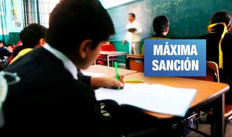 Cusco: Profesor es condenado a cadena perpetua por violación sexual de tres escolares