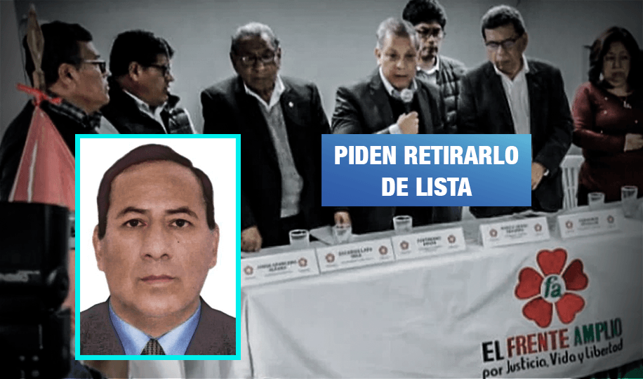 Detienen a candidato del Frente Amplio condenado por corrupción