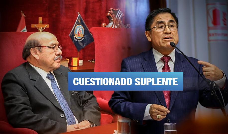 Llamadas vinculan a otro miembro de la Junta Nacional de Justicia con Hinostroza