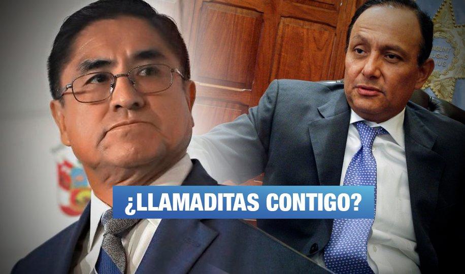 Registran llamadas entre defensor del Pueblo y César Hinostroza